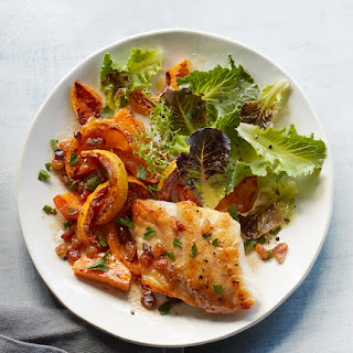 Grouper With Brown Butter Squash