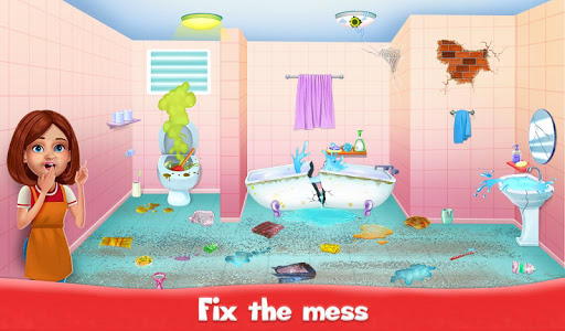 Big Home Cleanup and Wash : House Cleaning Game 2.0.7 screenshots 2