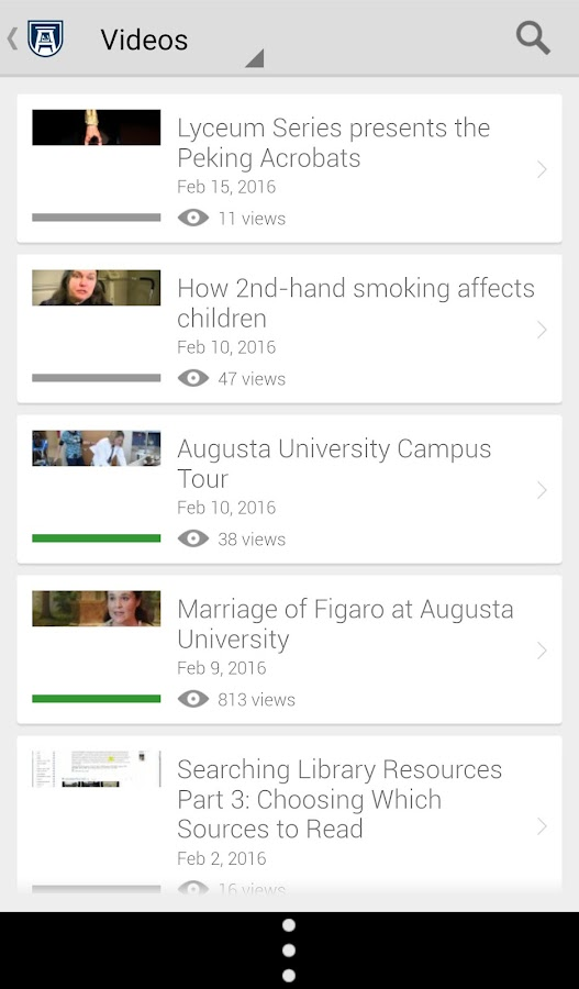 Augusta University Mobile- screenshot