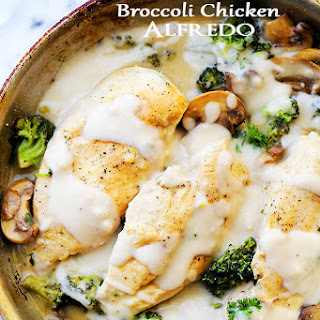 Easy Creamy Broccoli Chicken Alfredo