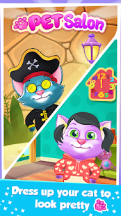 Nadýchaná kočka oblékají Hra - náhled