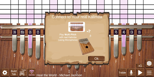 Kalimba Real screenshot 4
