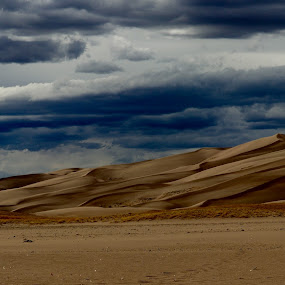 Great sand dunes by Lyn Simuns - Landscapes Deserts ( sand )