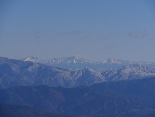 南アルプス(北岳から農鳥岳)