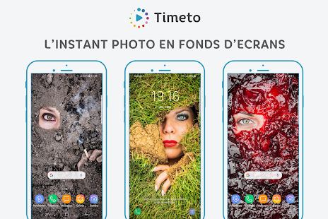 Timeto – L'instant photo en fonds d'écran Capture d'écran