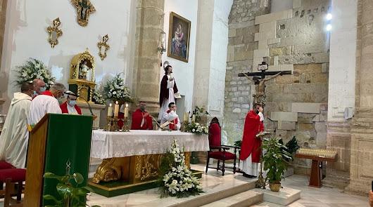 El nuevo rector del Seminario toma posesión como párroco de San Juan