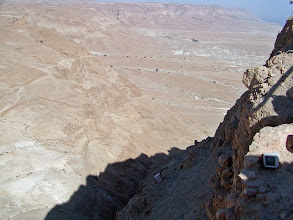 Photo: Instead of using the cable car, it is possible to walk to or from the top on a steep trail called the Snake Path.