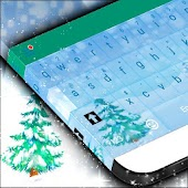 Winter Snow Keyboard Theme