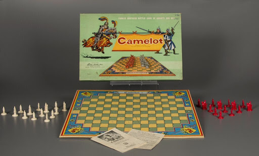Board game:Camelot - Parker Brothers Inc  — Google Arts