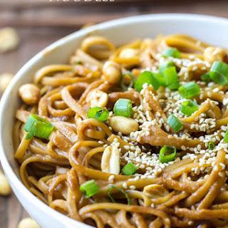 Thai Peanut Sesame Noodles.