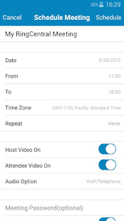 RingCentral Meetings- screenshot thumbnail