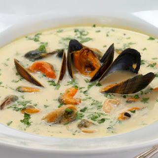 Mussels Potatoes Cream Recipes