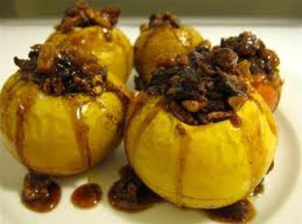 Cinnamon Glazed Apple Dessert Recipe