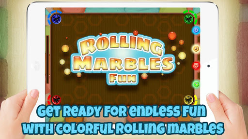 Rolling Marbles Fun