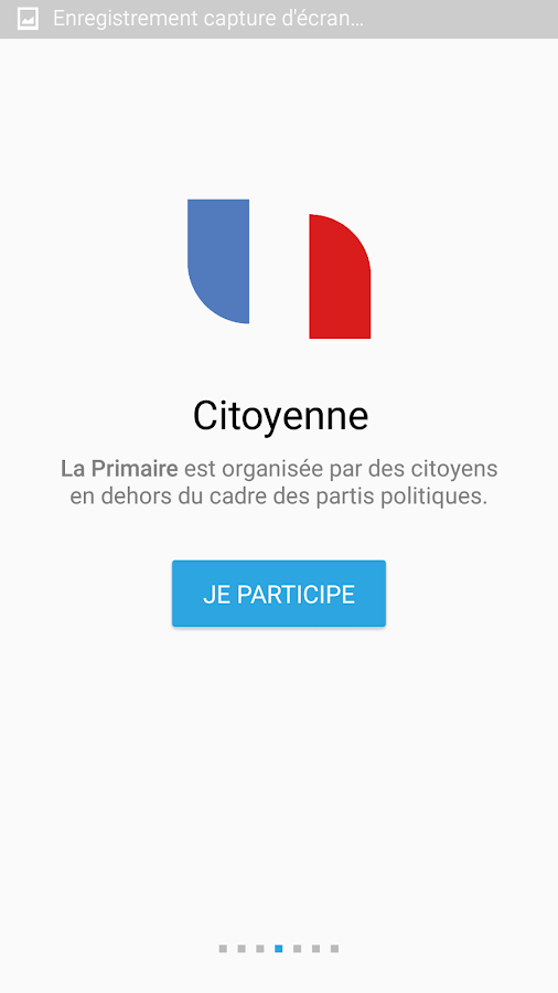 LaPrimaire.org- screenshot