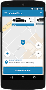Central Taxis Coventry- screenshot thumbnail