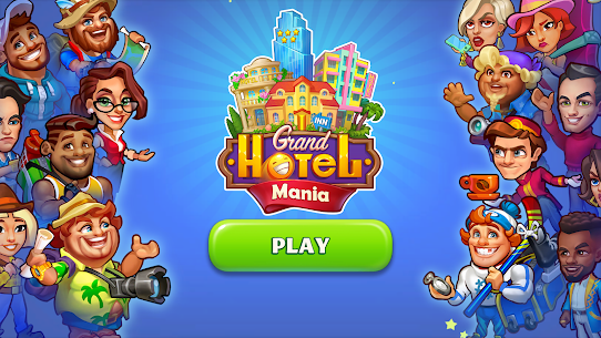 Grand Hotel Mania MOD APK 1.8.0.8 [Unlimited Coins, Gems] 1