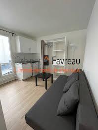 Studio meublé 11,22 m2