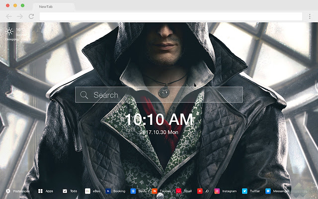 Assassin's Creed New Tab Page HD Wallpapers
