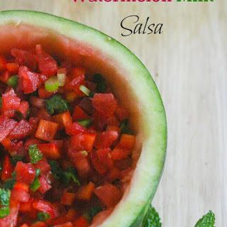 Watermelon Mint Salsa