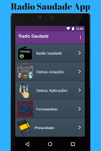 Radio Saudade App - náhled