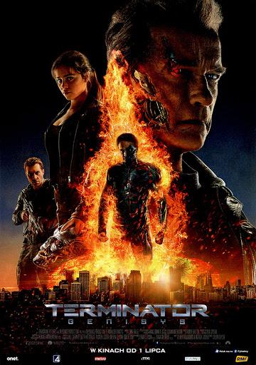 Przód ulotki filmu 'Terminator: Genisys'