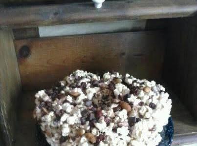 Birthday Popcorn Cake