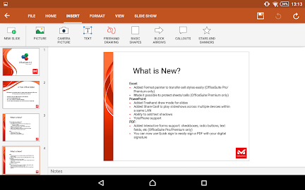 OfficeSuite 8 + PDF Editor Screenshot 5