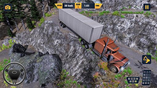 American Truck Cargo Car Transporter Driving 1.8 screenshots 4