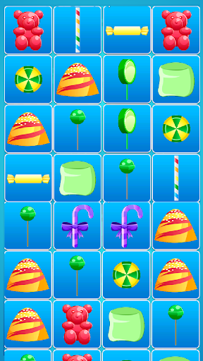 Candy match puzzle for kids