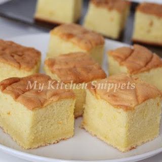 Castella or Kasutera (Japanese Sponge Cake).