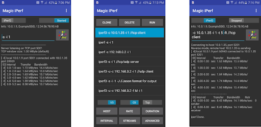 Magic iPerf including iPerf3 - Apps on Google Play