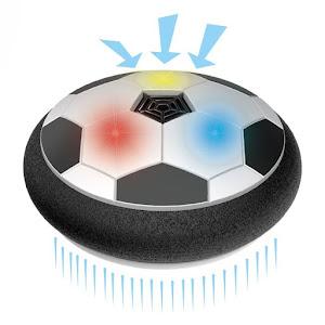 Set de fotbal cu minge Air Hover si porti