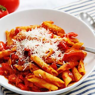 Easy Tomato and Chorizo Pasta Recipe