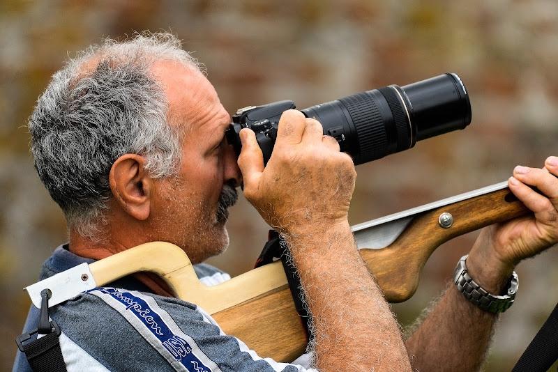 Caccia fotografica di acquario