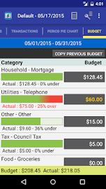 MoBill Budget and Reminder Screenshot 5