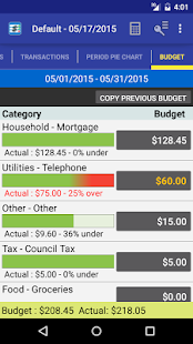MoBill Budget and Reminder Screenshot 5