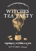 Witches Tea Party - Halloween Invitation item