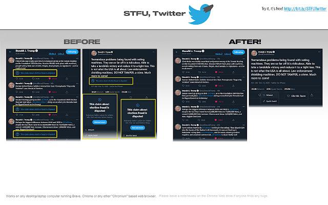 STFU Twitter
