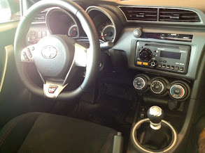 Photo: SPORTY INTERIOR WITH RED STITCHING http://redmccombstoyota.com/