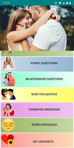 Questions to ask a girl , GF BF Questions & more 1 1 APK by