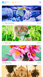 April Coloring – Oil Paint by Number for adults. 2.45.0 Mod + APK + Data UPDATED 2
