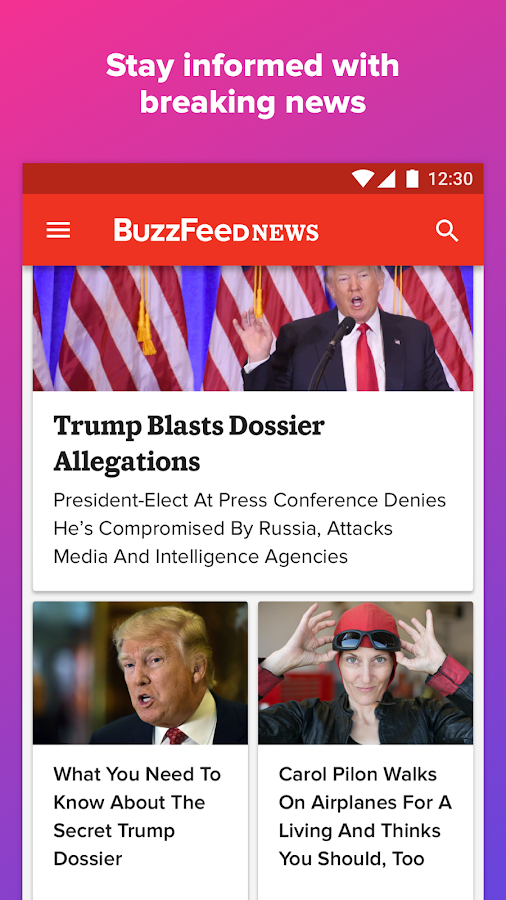 BuzzFeed- screenshot