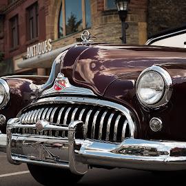 1948 Buick Super Convertible by Andrew Conley - Transportation Automobiles ( car, vintage, automobile, chrome, buick, car show, detroit, antique, convertible,  )
