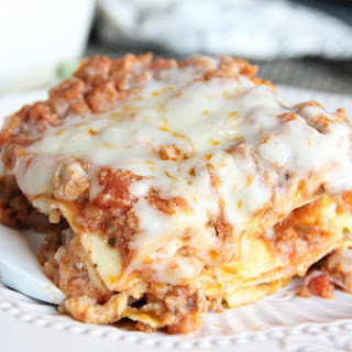 Skinny Turkey Lasagna Recipe