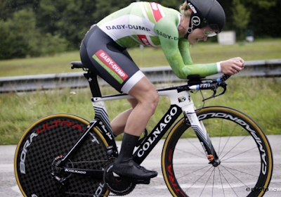 Jolien D'hoore n'était pas loin d'un podium aux Championnats du Monde