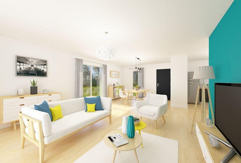 Vente Terrain + Maison - Terrain : 535m² - Maison : 79m² à Chemillé (49120)