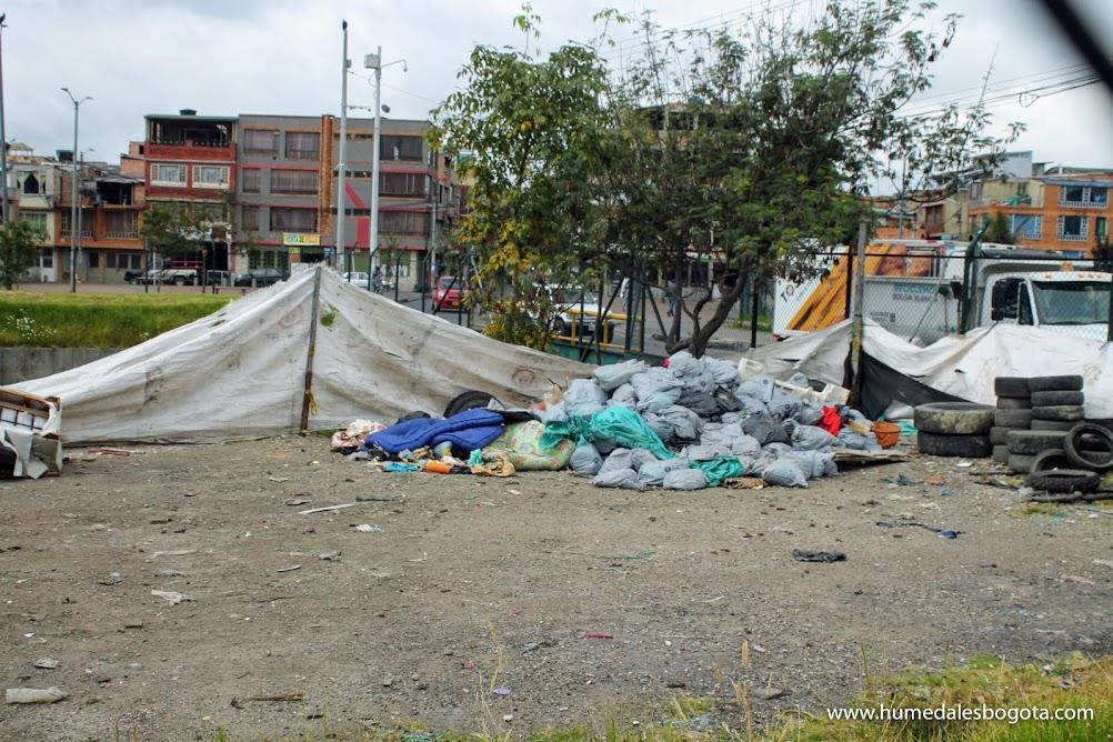 Residuos retirados de la reja del canal Los Ángeles y El Carmelo