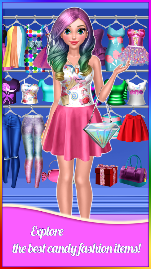 Candy Fashion Dress Up Makeup Game Android Apps On