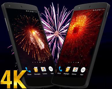 Fireworks 4K Live Wallpaper